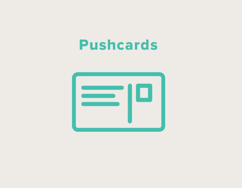 Pushcards